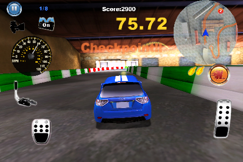 Screenshot Gymkhana Hero